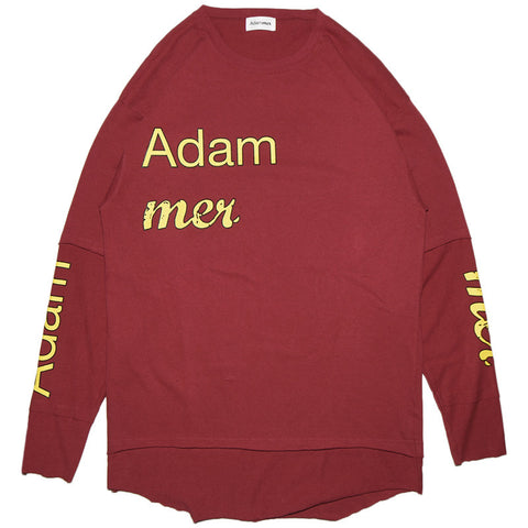 Adammer L/S T-SHIRT / RED,PUR