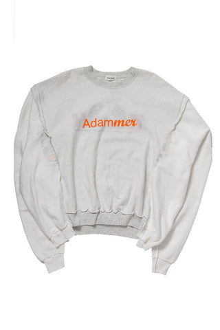 Adammer Long Sleeve Sweat WHITE