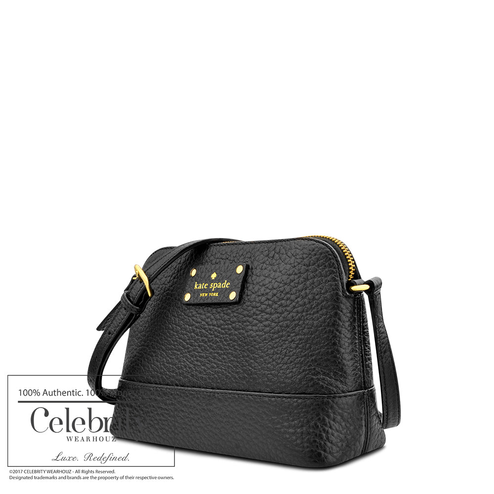 Kate Spade Bay Street Hannah Crossbody in Black