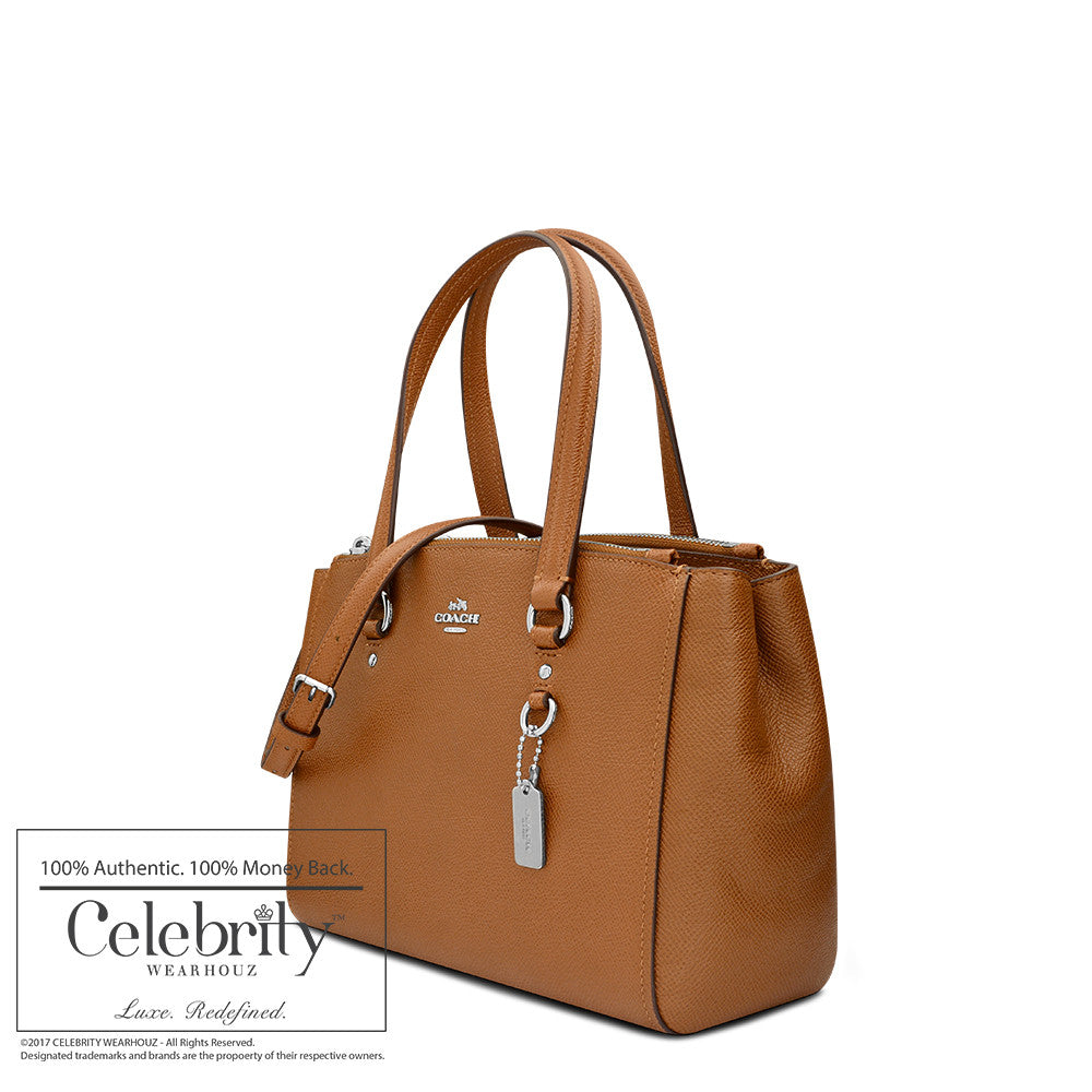 Coach Stanton Carryall in Crossgrain Leather in Light Saddle