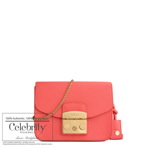 Coach Sophia Tote in Polished Pebbled Leather True Red