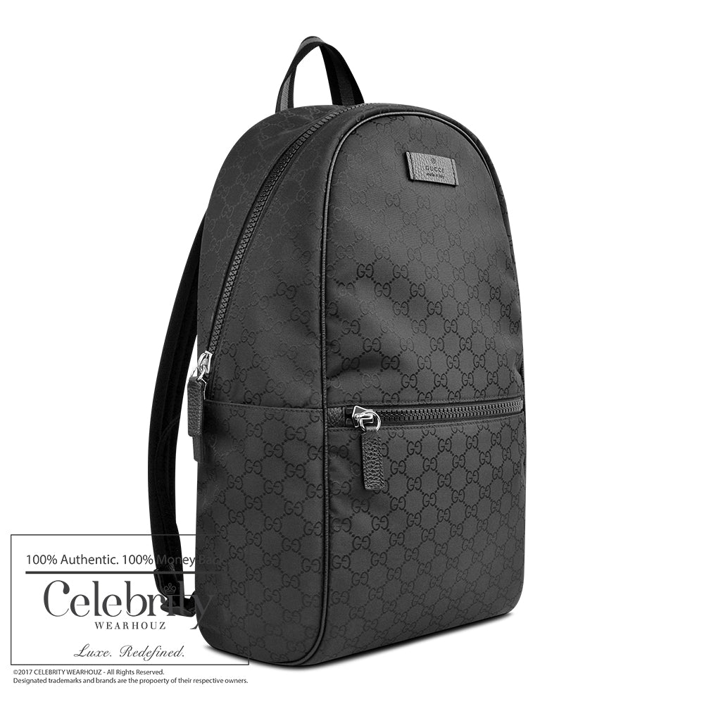 Gucci Gg Slim Backpack in Black