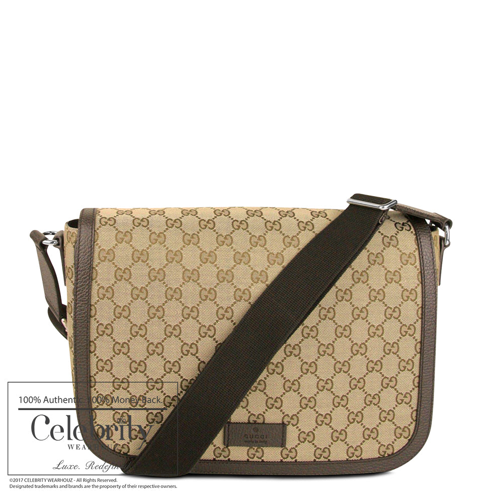 Gucci Mens Messenger Flap Bag