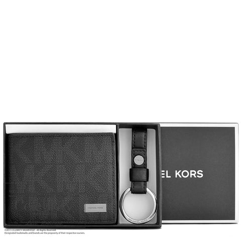 Michael Kors Jet Set Travel Lanyard ID Card Case in Sienna