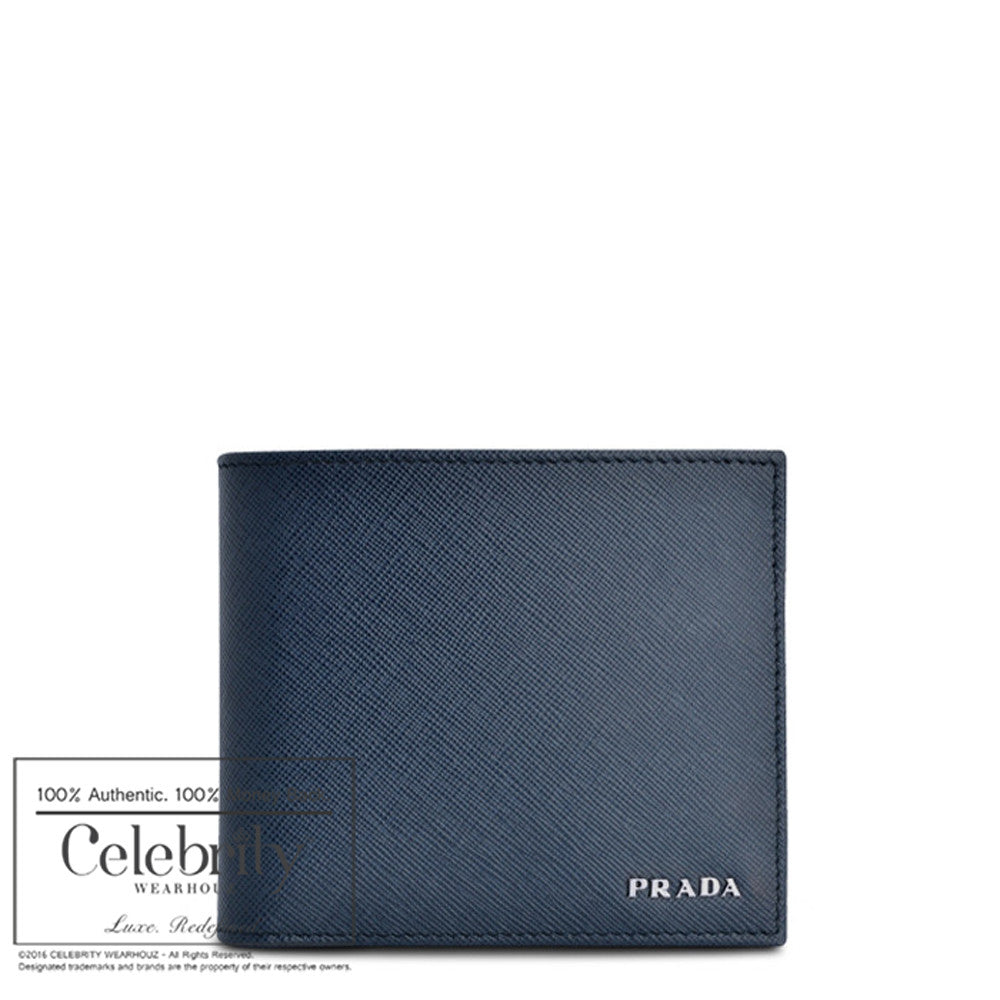 Prada Prada Saffiano Metal Medium Flap Wallet on Reebonz