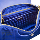 Prada Tessuto Crossbody Sling Bag Royal
