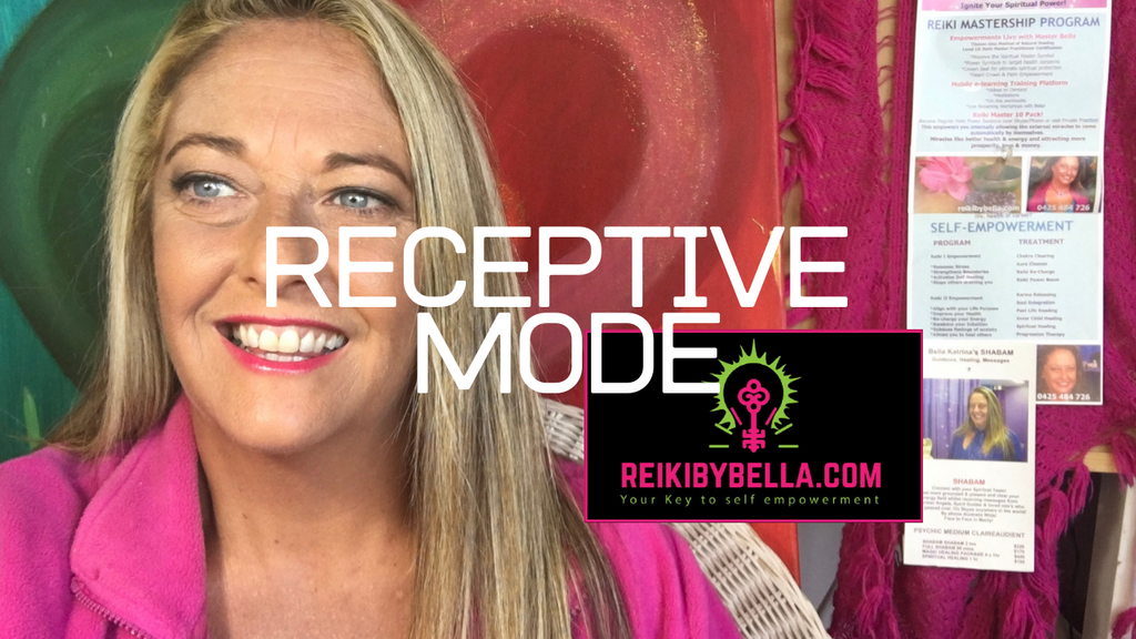 RECEPTIVE MODE VIMEO ON DEMAND - CLICK ON SUBSCRIBE