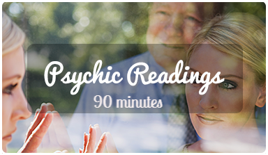 1 x 90 mins FULL PSYCHIC SHABAM READING & HEALING