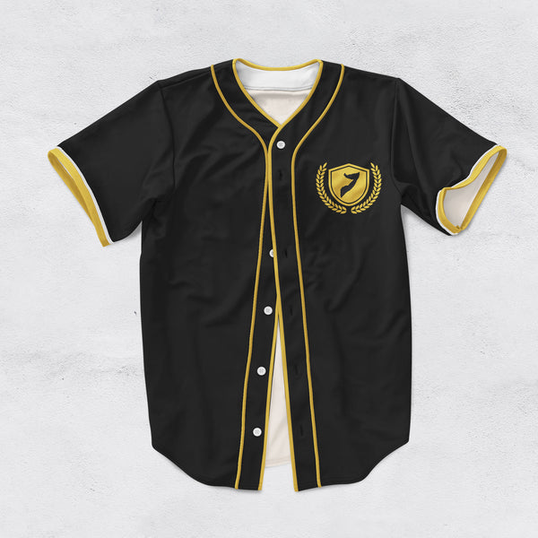 Customize Limited Edition Black and Gold Somalia Baseball Jersey