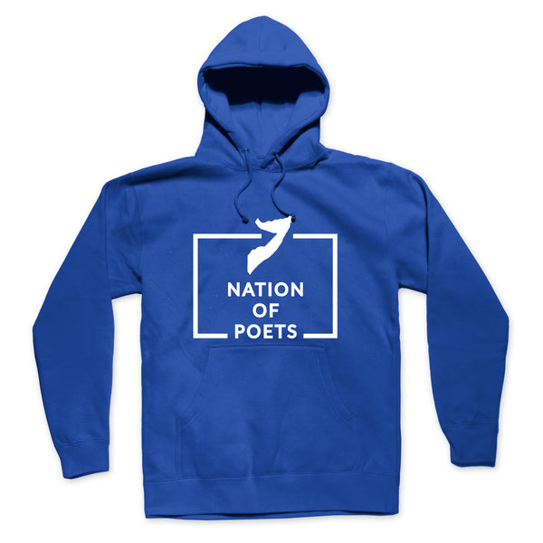 Nation of Poets - Blue Hoodie