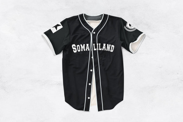 Customize Your Black and White Somaliland Jersey