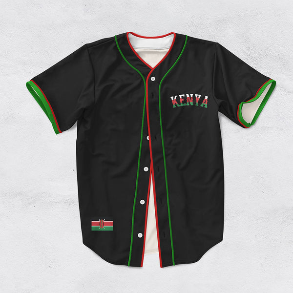 Limited Edition Kenya Baseball Jersey