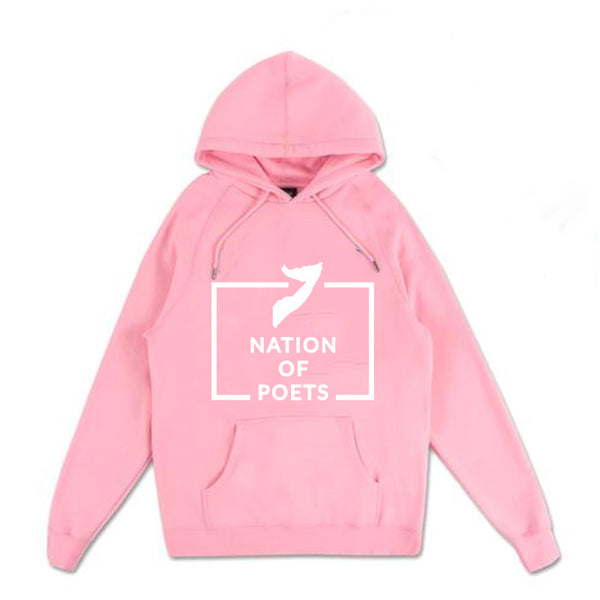 Nation of Poets - Pink Hoodie