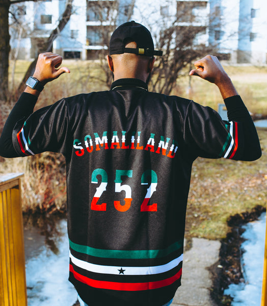 Customise Special Edition Somaliland Baseball Jersey