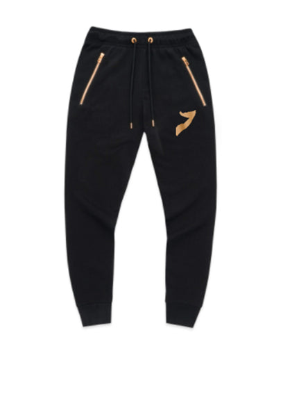 Black with Gold Somalia Tracksuit
