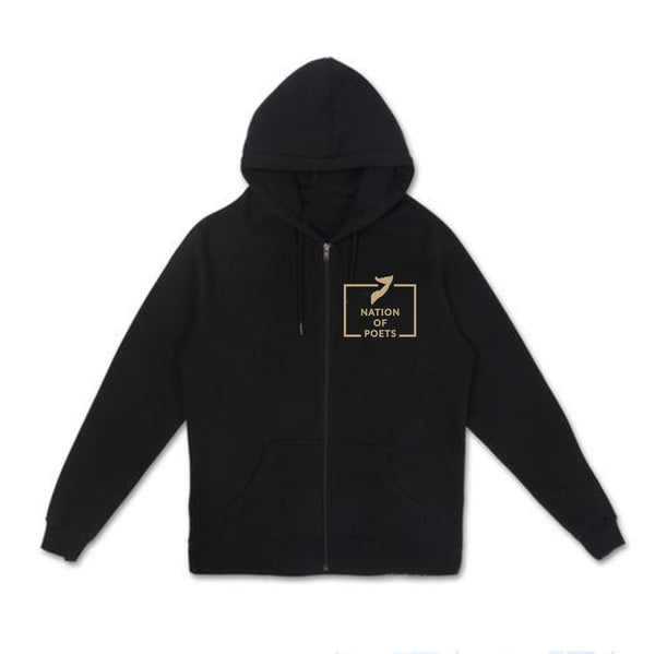 Nation of Poets - Zip up Hoodie