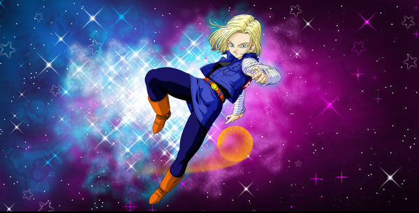 Android 18 Play Mat