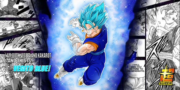 Vegito Blue playmat