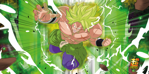 Dragonball super Broly play mat