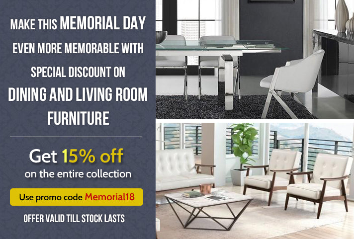 Let's Celebrate This Memorial Day with a Special 15% Discount