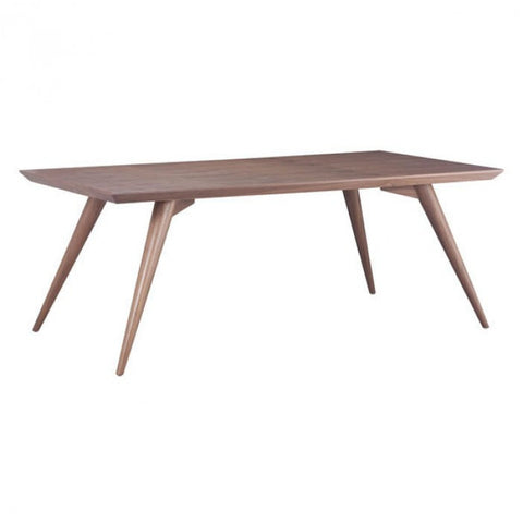 Zuo Modern Walnut Stockholm 100000 Dining Table - Pankour