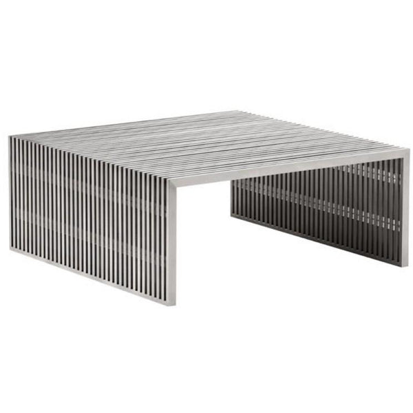 ZUO Modern Novel Square Coffee Table 100084 Living coffee Consoles - Pankour