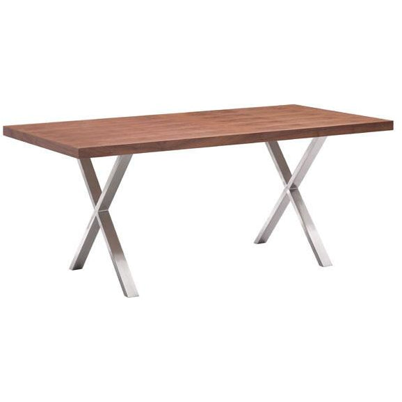 Zuo Modern Walnut Renmen 100086 Dining Table - Pankour