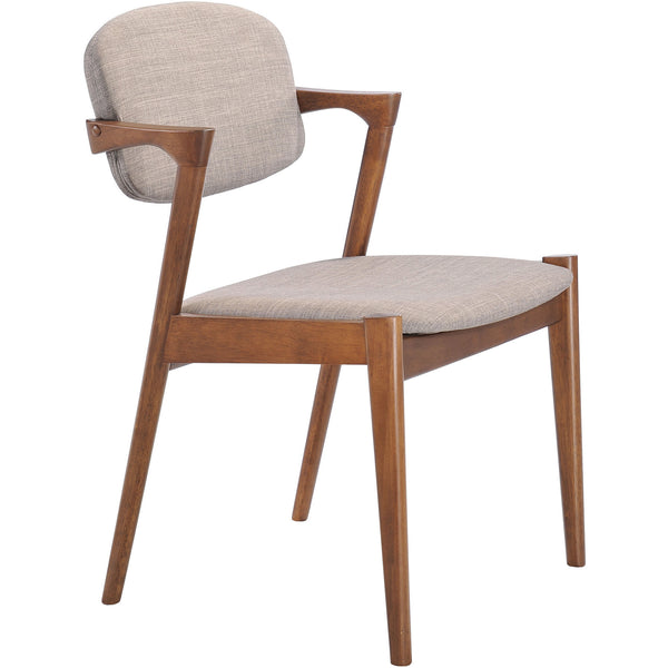 Zuo Modern Dove Gray Brickell 100113 Dining Chair - Pankour