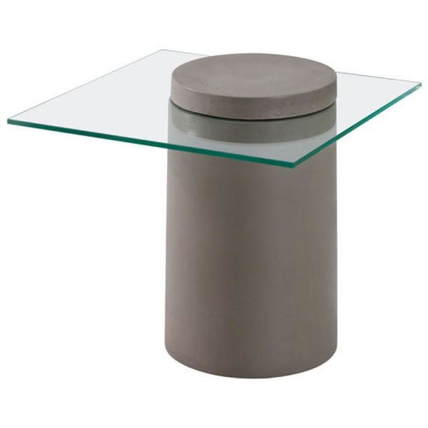 ZUO Modern Monolith Side Table 100194 Living Side Table - Pankour