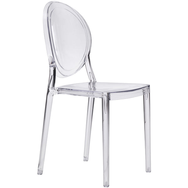 Zuo Modern Clear Specter 100299 Dining Chair ( Set of 4 ) - Pankour