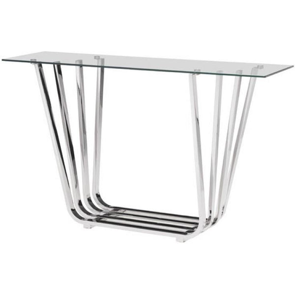 ZUO Modern Fan Console Table 100328 Living Side Table - Pankour