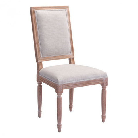 Zuo Modern Beige Cole Valley 98074 Dining Chair - Pankour