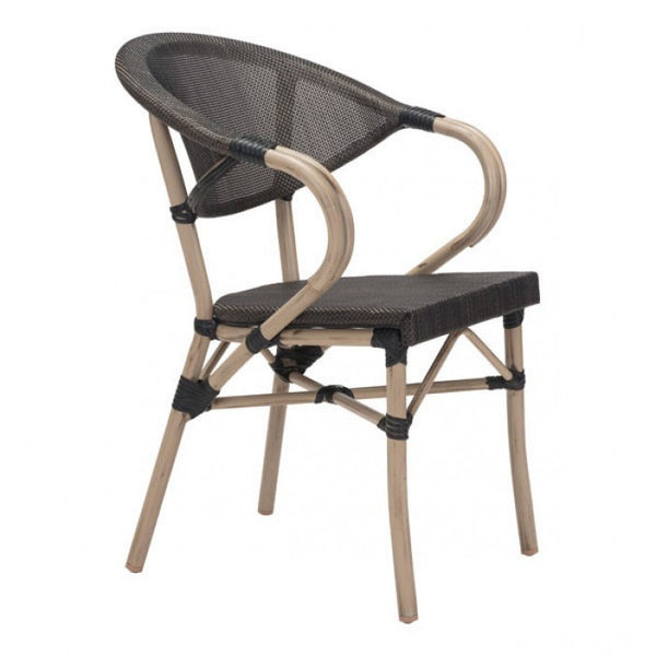 Zuo Modern Dark Brown Marseilles 703806 Dining Chair - Pankour
