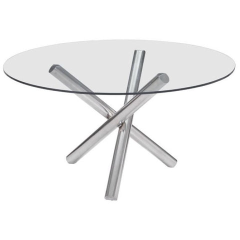 ZUO Modern Stant Round Dining Table 100352 Dining,Office Tables,Desks - Pankour