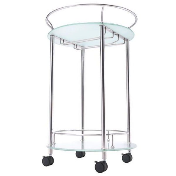 ZUO Modern Plato Serving Cart Stainless Steel 100365 Dining,Bar Storage,Storage - Pankour