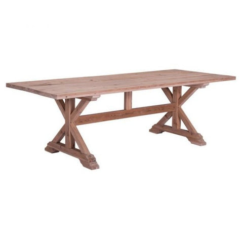 ZUO Modern Alliance Natural Fir 100440 Dining Tables - Pankour