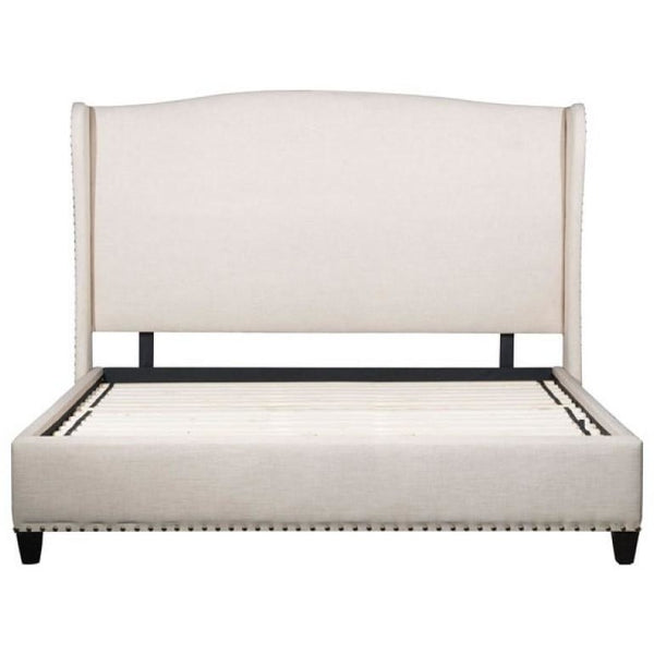 ZUO Modern Enlightenment King Bed Beige 100564 Bedroom Beds - Pankour