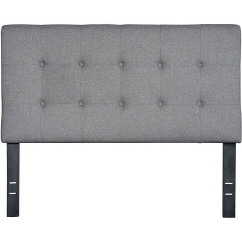 ZUO Modern Modernity Full Headboard Gray 100570 Bedroom Headboards - Pankour
