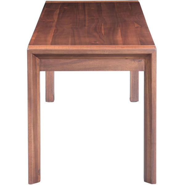 ZUO Modern Perth Bench Chestnut 100589 Dining,Bedroom Benches,Benches - Pankour
