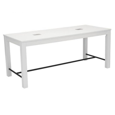 ZUO Modern Odin Dining Table White 100619 Dining Tables - Pankour