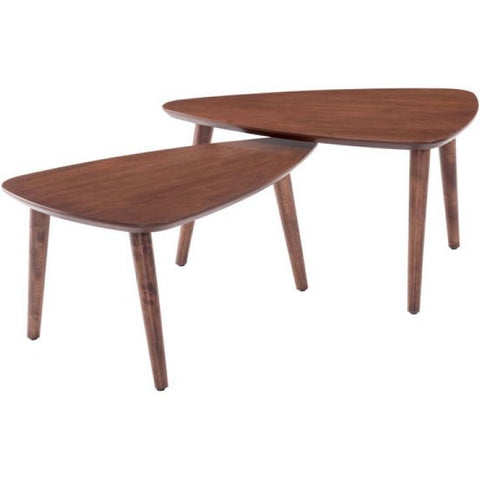 ZUO Modern Koah Nesting Coffee Tables 100671 Living Side Table - Pankour