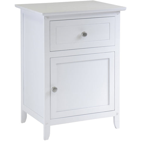 Winsomewood Eugene Accent Table 81115 White - Pankour