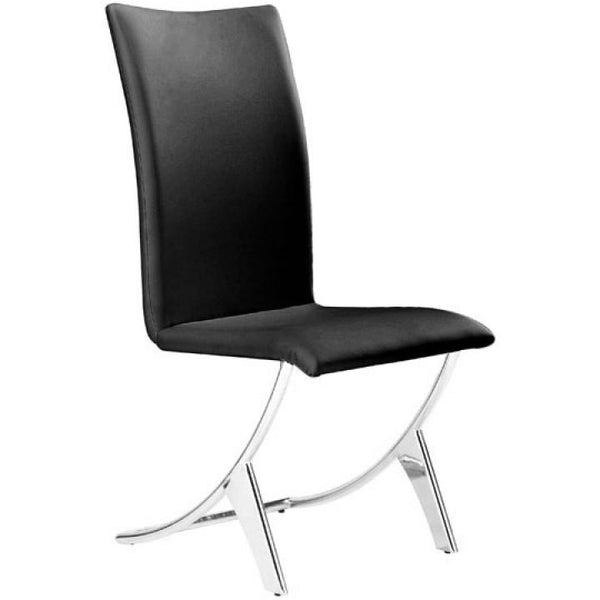 Delfin Dining 102101 Chair Black - Pankour