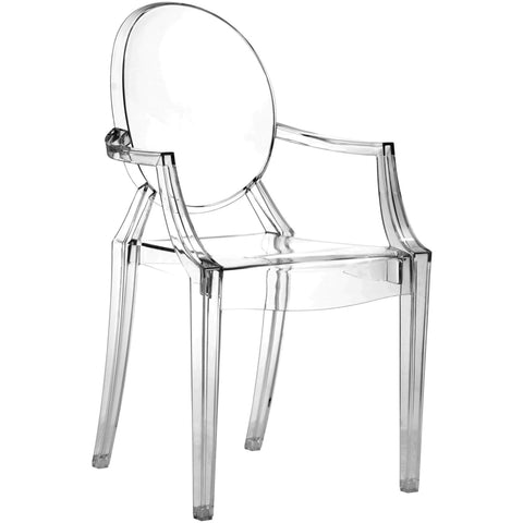 Zuo Modern Transparent Anime 106104 Dining Chair Transparent - Pankour
