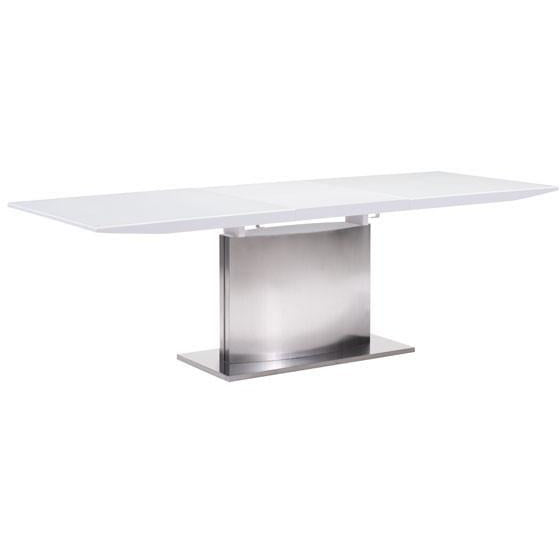 Zuo Modern White Pierrefronds Extension 107860 Dining Table - Pankour