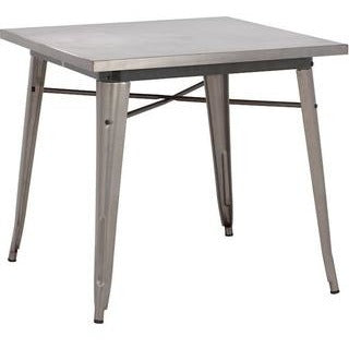 ZUO Modern Olympia Dining Table Gunmetal 109125 Tables