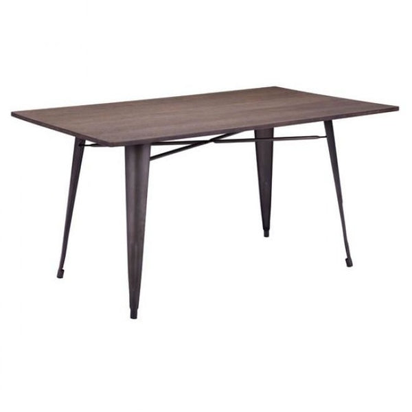 ZUO Modern Titus Rectangul Rustic Wood 109127 Dining Table - Pankour