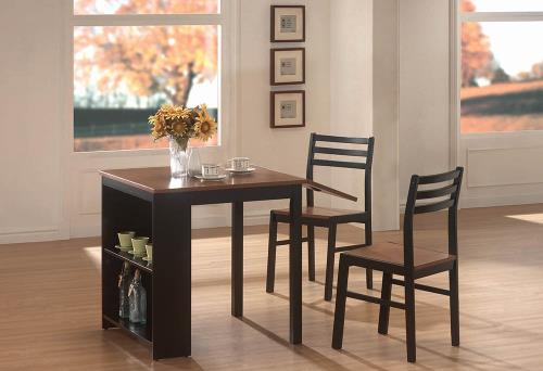 Coaster Furniture PACKAGED SETS: 3 PC SET 130015 COUNTER HT TABLE