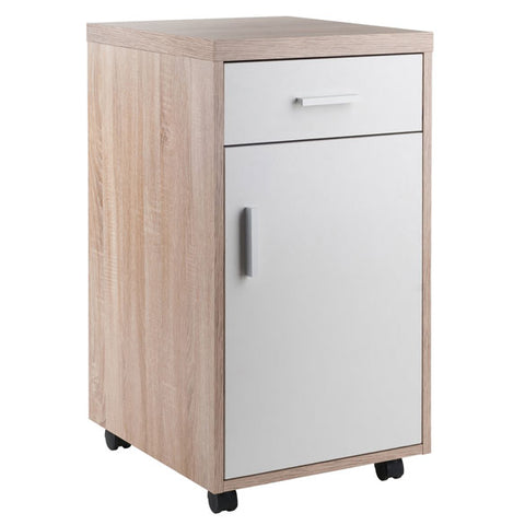 Winsome Wood 18220 Kenner Mobile Storage Cabinet