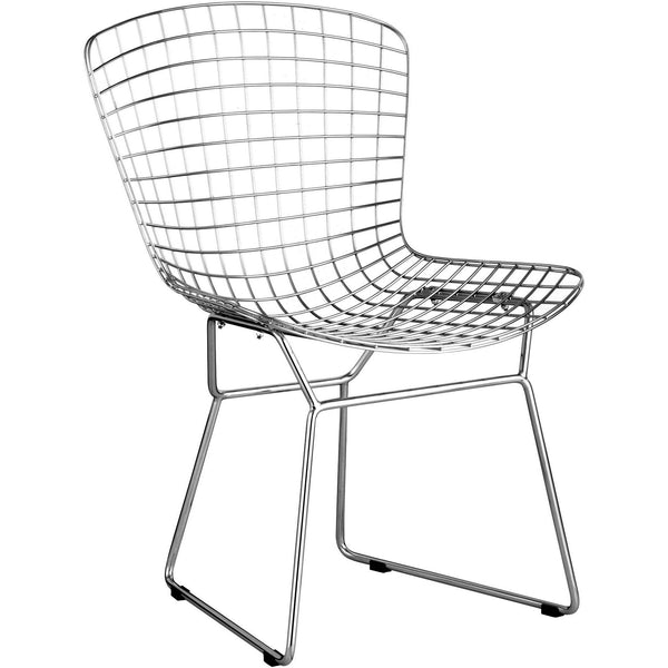 Zuo Modren Chrome Wire 188000 Dining Chair - Pankour